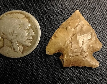 Authentic Native American Arrowhead #35