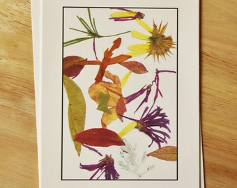 Floral Greeting Card.  All Occasion.  Blank Inside.