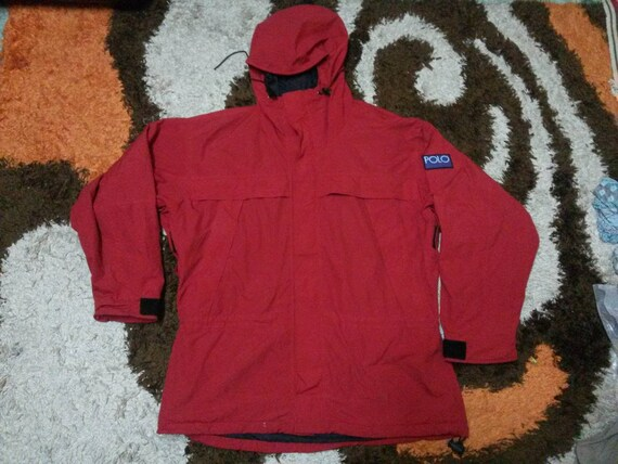 90s Ralph Polo Hi Vintage Tech Jacket Lauren EIH29WD