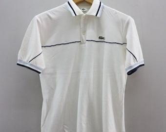 04ef11601 Vintage Lacoste Minimalist Logo T Shirt Polos Sport Wear Designer Fashion  Golf Top Tee Shirt