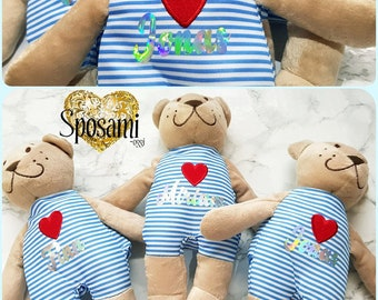 Gift Teddy bear with personalization