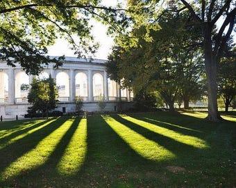 Arlington Memorial Amphitheater Photography, Historical Landmark Photography, Military Photography, Washington DC Photography,