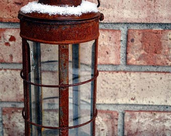 Fine Art Photography, Portrait ( Vertical ), Retired In Snow, snow photography , snow decor, outside wall photography , rustic photography ,