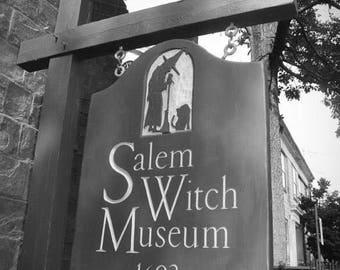 Fine Art Photography , Portrait (Vertical)  Salem Witch Museum, Salem Massachusetts Photography,