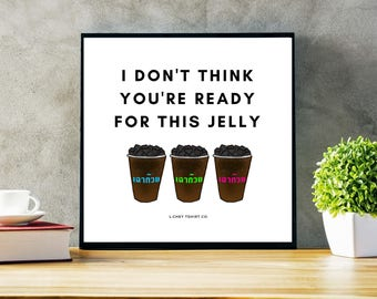 Grass Jelly Snack Poster