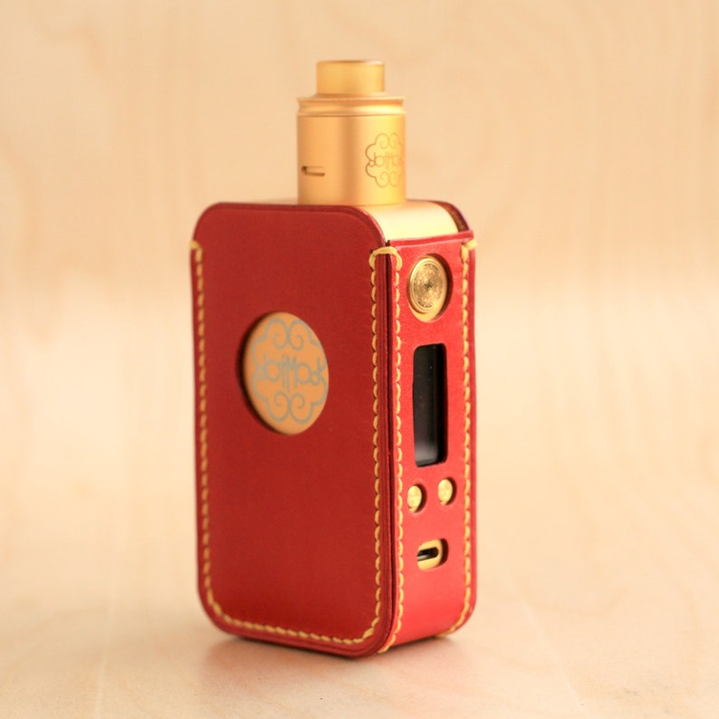 Leather case for Dotmod Dotbox 200W