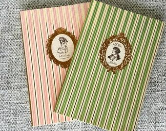 Handmade Jane Austen Journals, Notebooks, Book Set, Blank Book, Writing Journal
