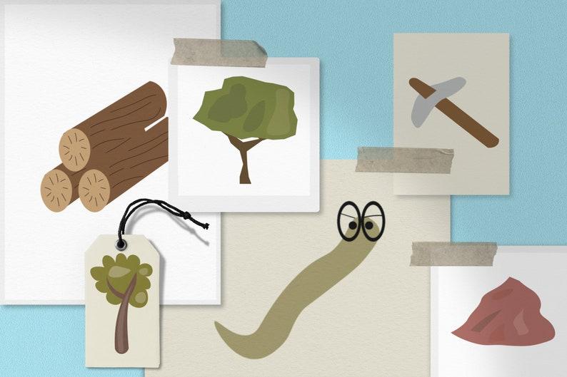 Gnome PNG Bundle Woodland PNG Bundle 300 DPI Gnome Lover Clipart Commercial Use Clipart Gnome Clipart Bundle With 61 Images