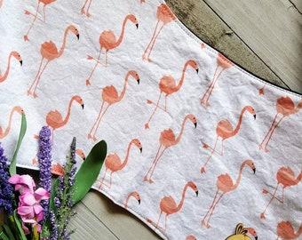 Burp Cloth- flamingo