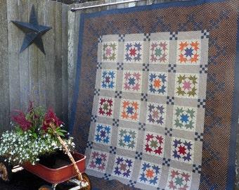 Homestead Trail Lap/Twin Quilt Pattern