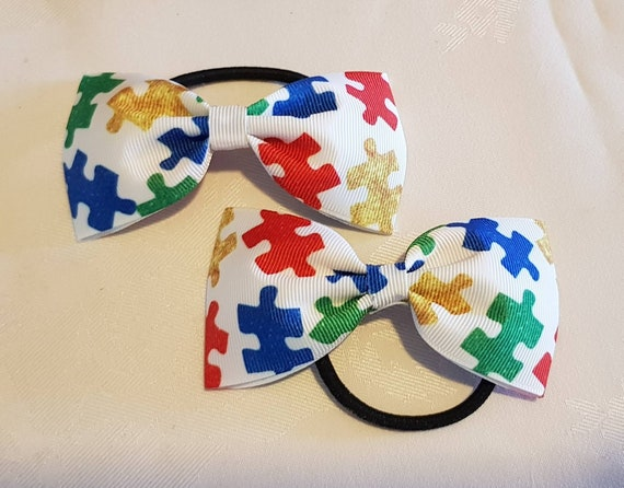 2x Girls Pinwheel Hair Bow Clips Super Hero Superheroes