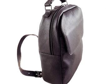 Leather Backpack - Mini Backpack - Womens Backpack - Leather Rucksack - Rucksack - Backpack - Leather Backpack Gift - Backpack For Her