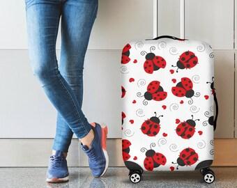 Fashion Art Pop Unicorn Travel Suitcase Protector Zipper Suitcase Cover Elastic