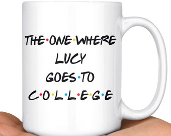 Personalized College Student Gift For New Birthday Present Going To Mug Funny