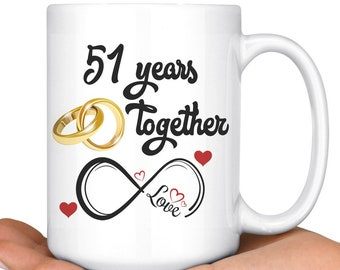 51 Years Together Etsy