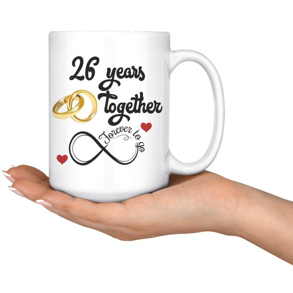 26th Wedding Anniversary Gift For Him And Her Married For 26 Etsy
