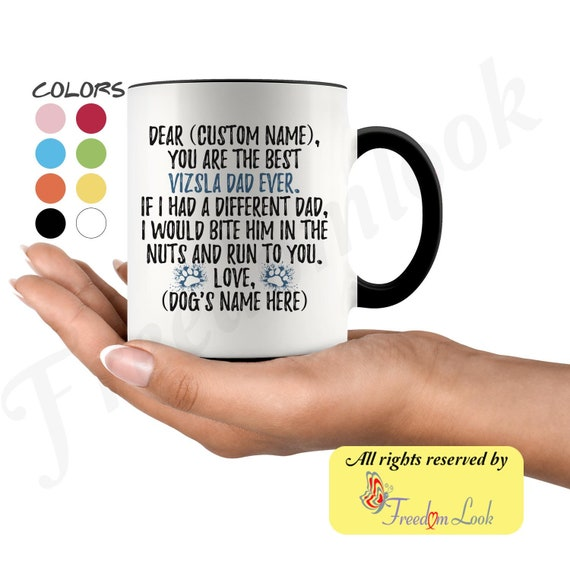 Vizsla Gifts Vizsla Mum Mug Cute /& funny gifts for Vizsla dog owners /& lovers