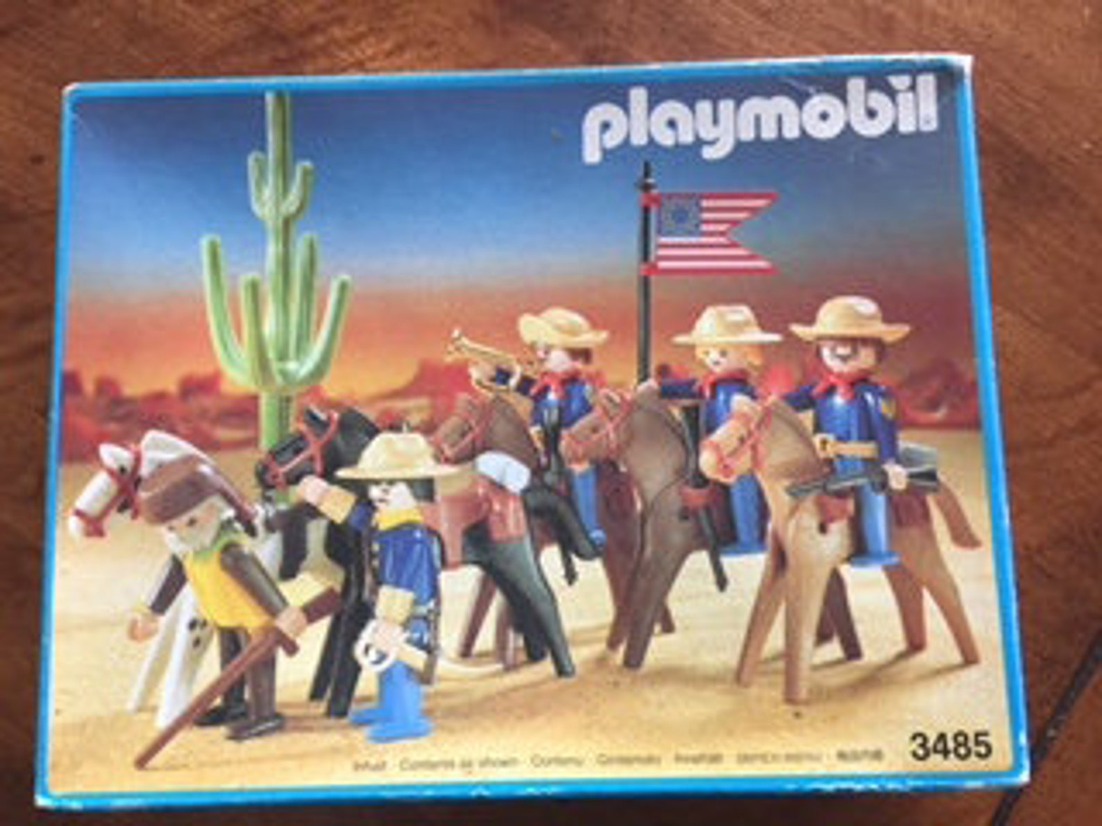Playmobil # 3485, rare Cavalry set