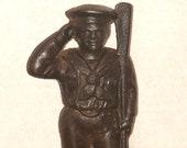 Antique Cast Iron Sailor Bank by Hubley, circa 1910