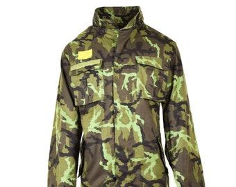 Original Czech army parka windproof jacket BDU desert camo military surplus NEW