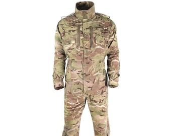 Genuine British Army Surplus Black Coverall Work Boiler Tank Suit Army Pattern