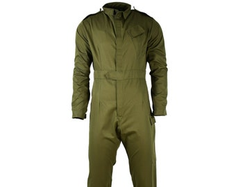 Original British army Olive green suit coverall mechanics jumpsuit coveralls boilersuit NEW
