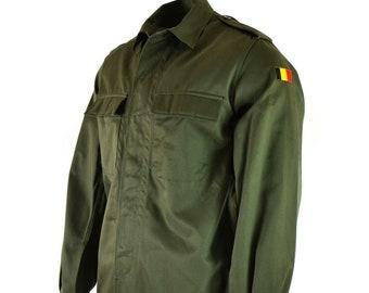 Vintage Belgium Army Coat