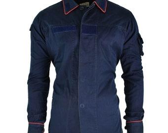 f9942060a6f Original Italian police carabinieri jacket dark blue