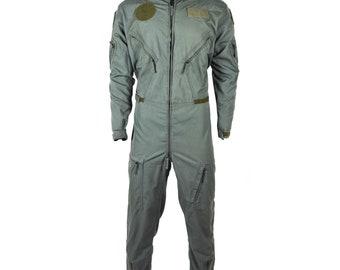 af94a4e034d Original Dutch army aramid carbon fiber flight suit coverall pilot fighter  Green Holland coveralls