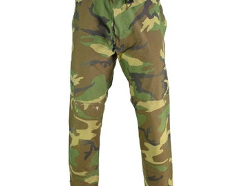 97cd6e1bbf8c0 Genuine US Military GI Gore-Tex® Pants Woodland Camo waterproof army  trousers