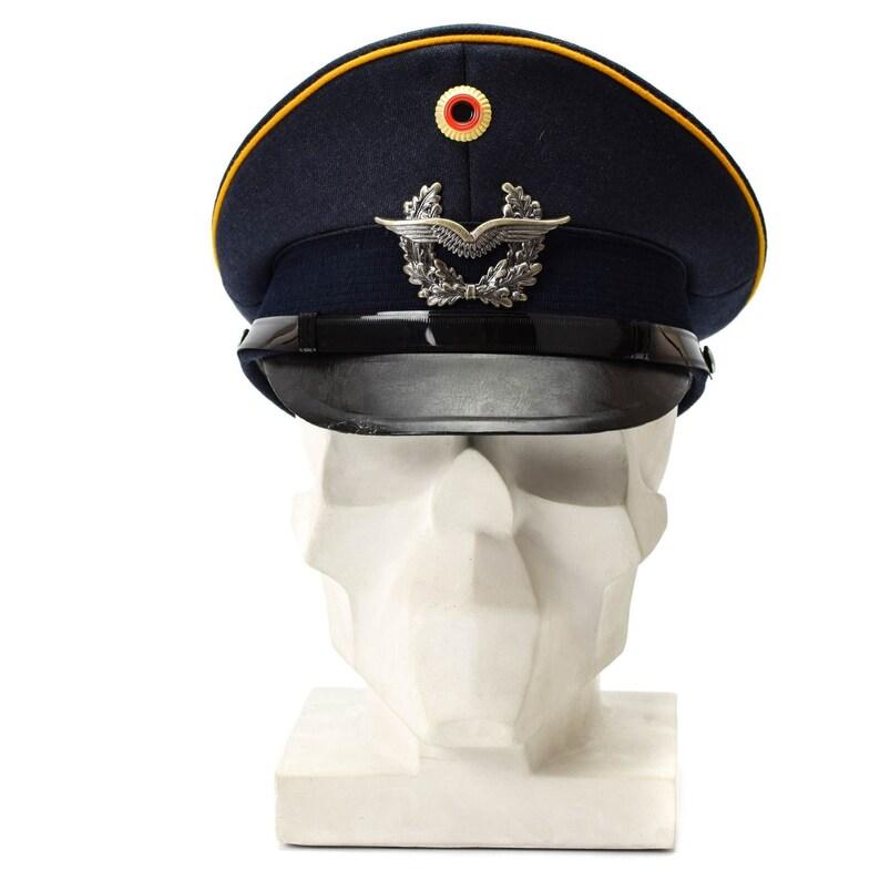 5bda08b9dbb Genuine German army visor cap. Air forces military peaked hat