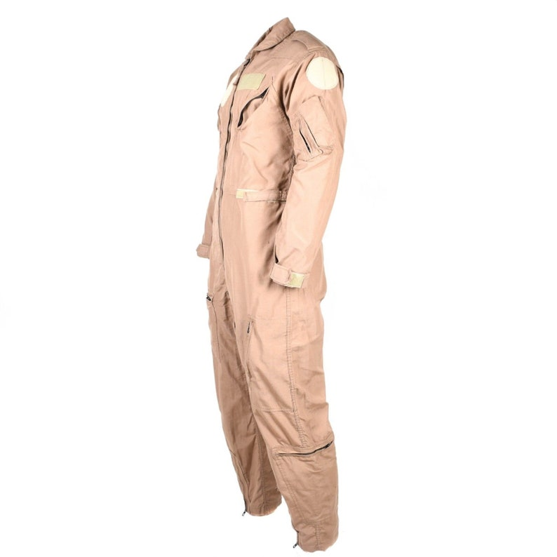 Genuine US army USAF CWU-27P Flight Suit Coveralls Beige nomex fire resist usa military issue