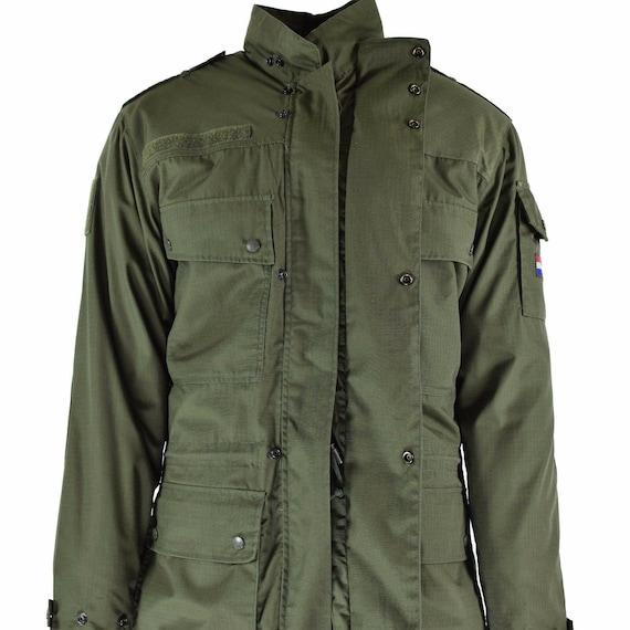 Original Holland dutch army field rip stop jacket