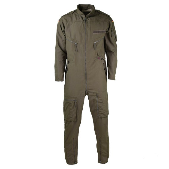 Genuine German army Olive OD overall suit combat t