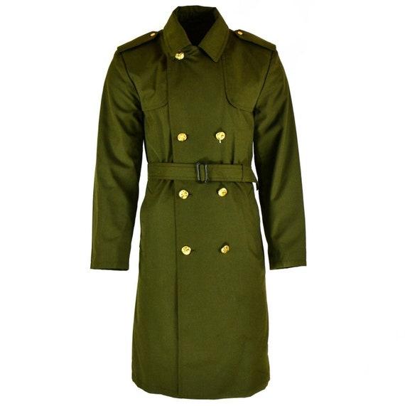 Genuine Czech army coat trenchcoat CZ military iss