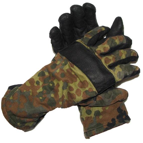 Camo Handschoenen Bundeswehr Echte Flecktarn Bestrijding BwEtsy mNnv80wO