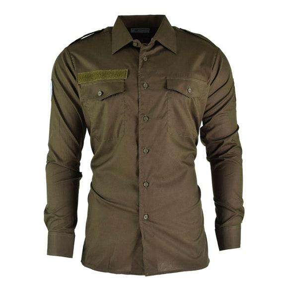 Austrian Army Issue Vintage Mens Field Shirt