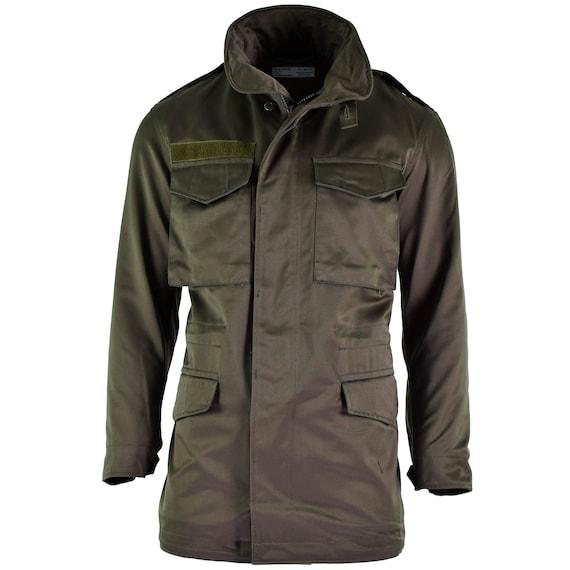 Original Austrian army combat M65 jacket OD military olive drab Parka combat coat NEW
