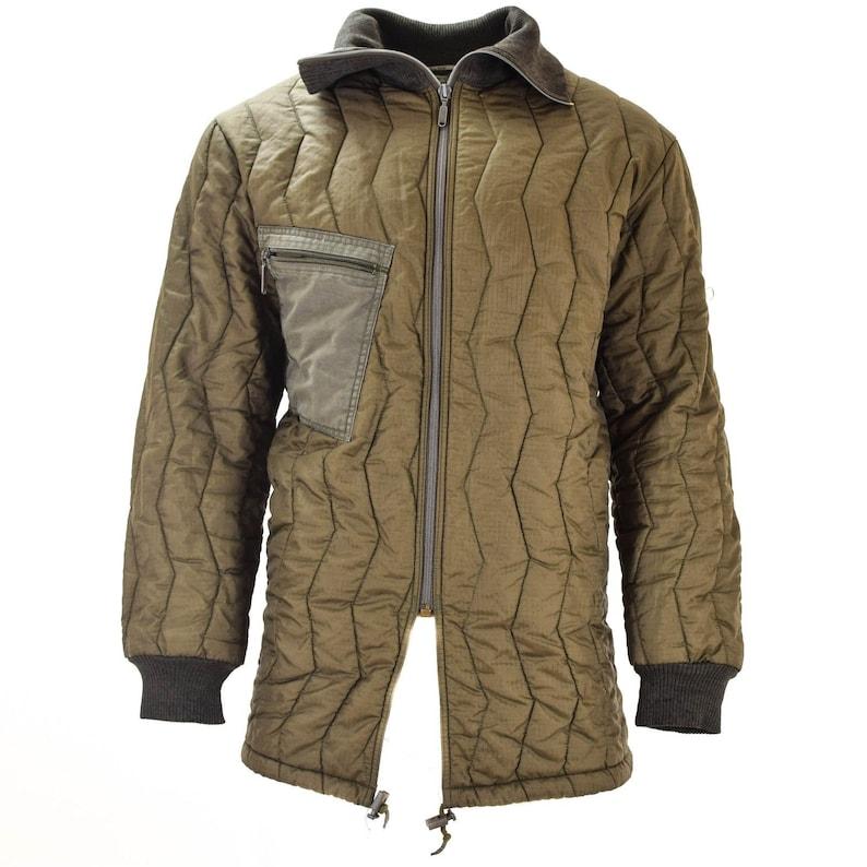 13913f0906f Original German army field jacket parka quilt liner military