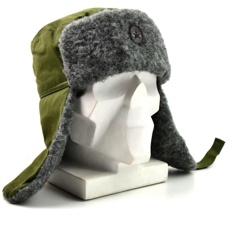 5db2d9a0b51a1b Original Hungarian army winter hat. Hungary military ushanka | Etsy
