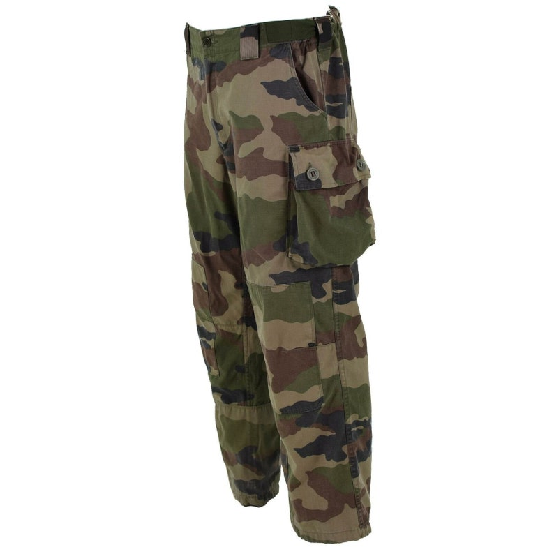 Genuine French Army combat pants military FELIN CCE camo T4 trousers Ripstop