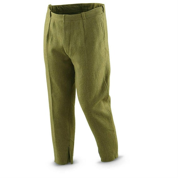 Czech Army M85 Trousers Olive Green BDU Army Military Surplus Pants