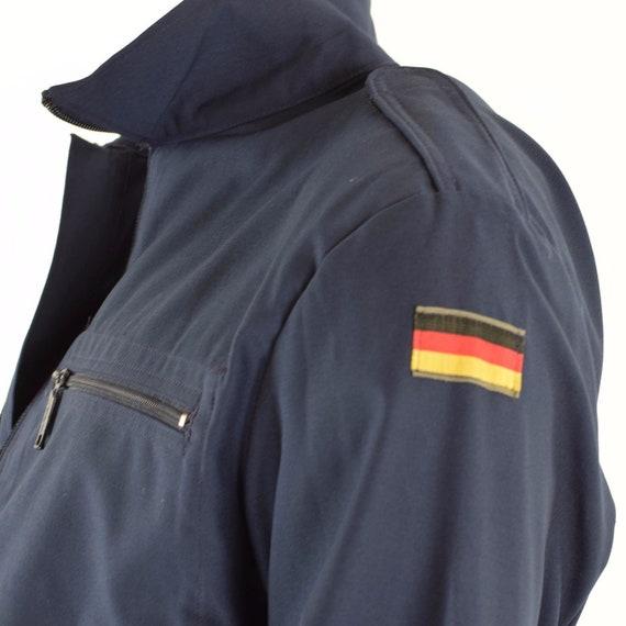 Armée marine de marque allemande Marines originale veste bleu marine Armée 1547d6