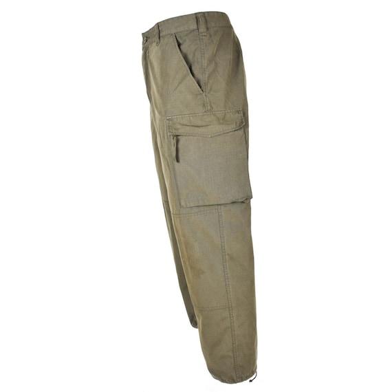 Genuine Austrian army pants Rip stop Khaki Military combat field Trousers BDU