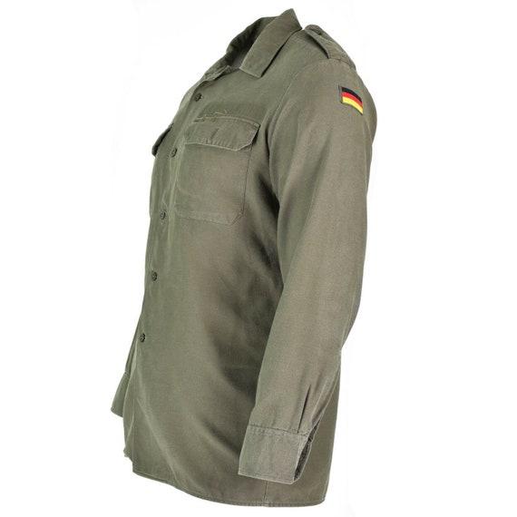 ORIGINAL GERMAN ARMY field shirt jacket military issue