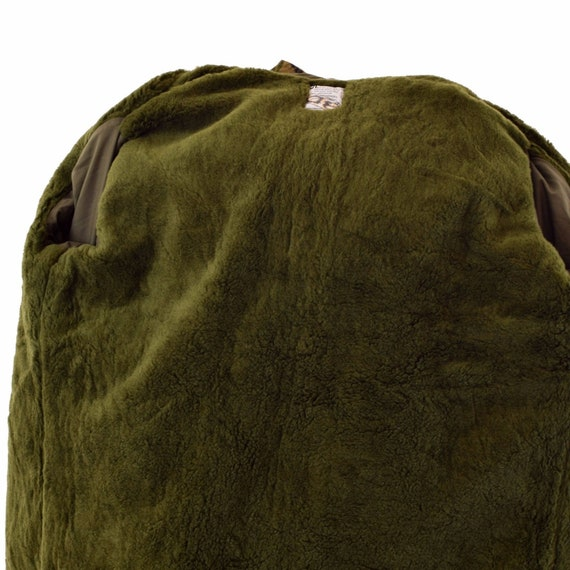 Original Dutch army jacket M65 waterproof military parka with lining trilaminate