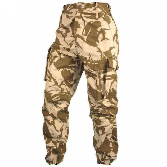 NEW All Sizes Bright Camouflage Military Style Combat Field Trousers