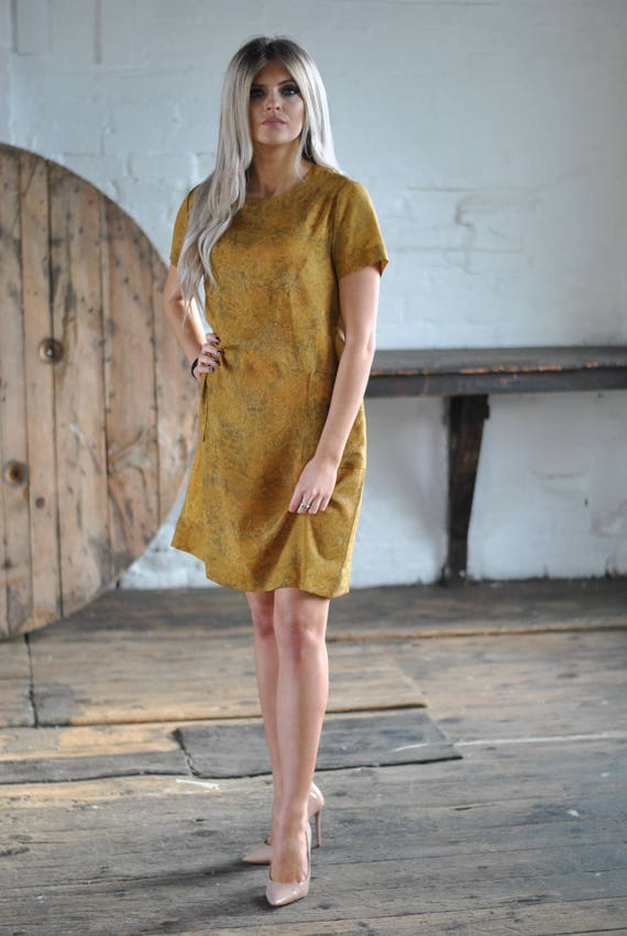 1950s Handmade Shift Dress