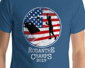 10e5f16b RESERVED: Cornhole Patriotic American Flag Vintage Champion Shirt  Short-Sleeve Unisex T-Shirt