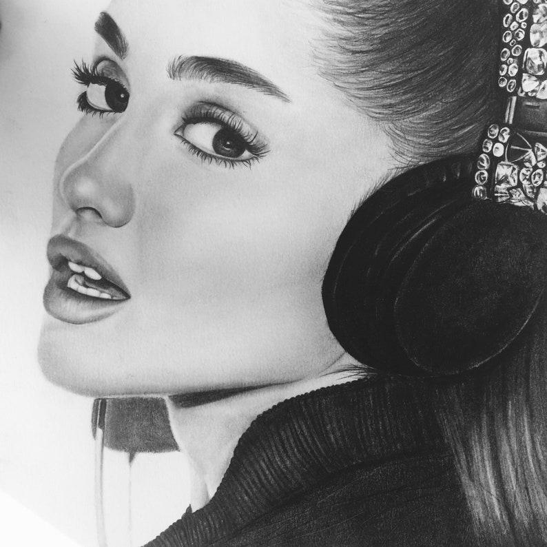 Ariana Grande Disegno Etsy